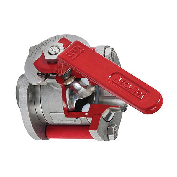 Stainless steel ball valves other versions : Meca-Inox V ...